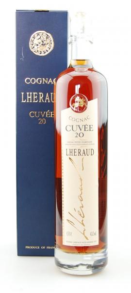 Cognac Lheraud Cuvee 20 Years Renaissance