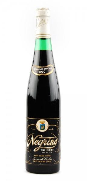 Wein 1960 Vino Rubino Negrino Leone de Castris