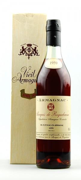 Armagnac 1959 Vieil Armagnac Marquis de Roquebrune