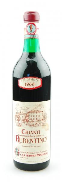 Wein 1969 Chianti Montagnana Rubentino