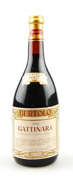 Wein 1967 Gattinara Lorenzo Bertolo Riserva Numerata