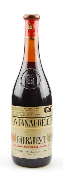 Wein 1976 Barbaresco Fontanafredda