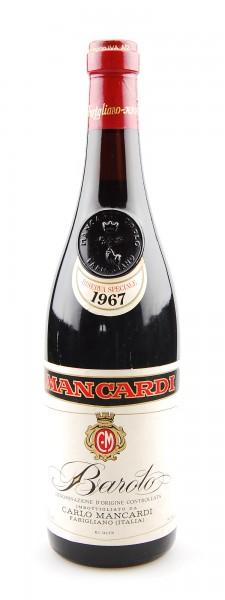 Wein 1967 Barolo Mancardi Riserva Speciale