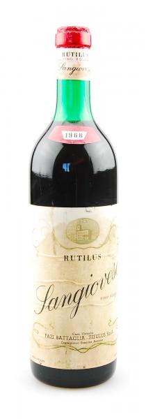 Wein 1968 Sangiovese Rutilus Fazi Battaglia