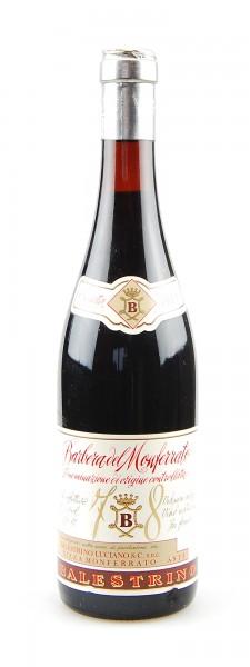Wein 1978 Barbera del Monferrato Balestrino