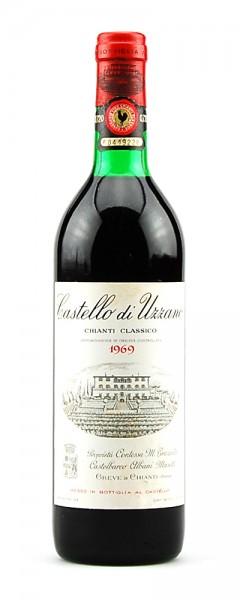 Wein 1969 Chianti Classico Castello di Uzzano Masetti