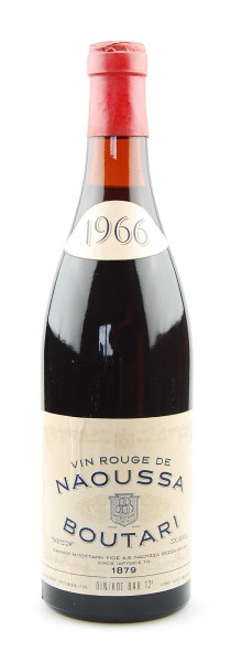 Wein 1966 Vin Rouge de Naoussa Boutari