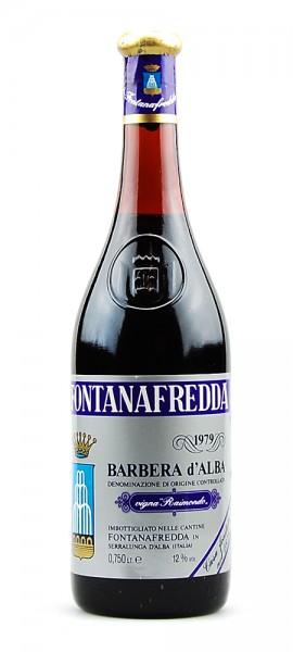 Wein 1979 Barbera d´Alba vigna Raimondo Fontanafredda
