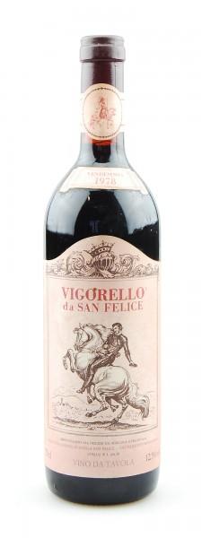 Wein 1978 Vigorello San Felice