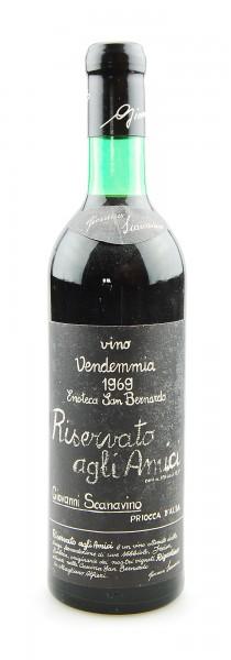 Wein 1969 Riservato agli Amici Scanavino