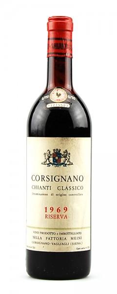 Wein 1969 Chianti Classico Riserva Corsignano