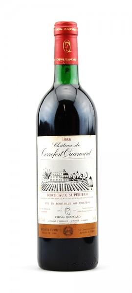 Wein 1988 Chateau de Terrefort-Quancard