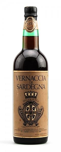 Wein 1970 Vernaccia di Sardegna Sella e Mosca