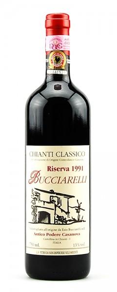 Wein 1991 Chianti Classico Riserva Bucciarelli Casanova
