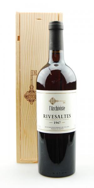 Wein 1967 Rivesaltes L´Archiviste