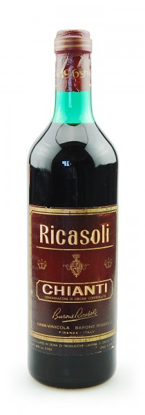 Wein 1969 Chianti Barone Ricasoli