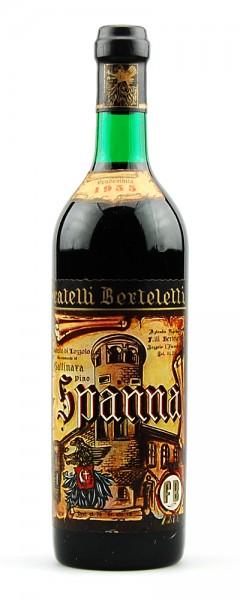 Wein 1955 Spanna Berteletti Castello di Lozzolo