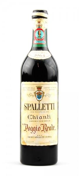 Wein 1964 Chianti Rufina Spalletti Poggio Reale