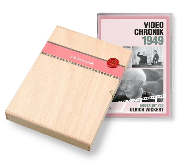 DVD 1949 Chronik Deutsche Wochenschau in Holzkiste