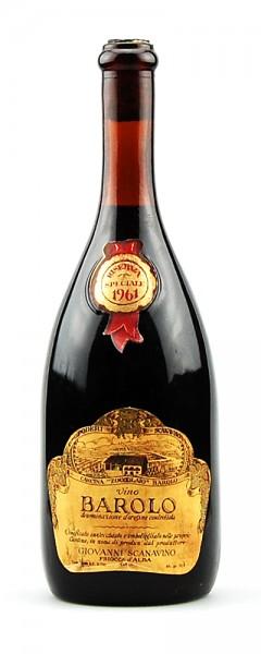 Wein 1961 Barolo Scanavino Cascina Zoccolaio di Barolo