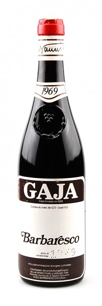 Wein 1969 Barbaresco Giovanni Gaja