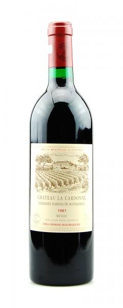 Wein 1987 Chateau La Cardonne Domaines Rothschild