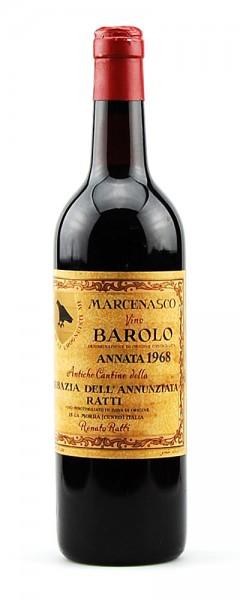 Wein 1968 Barolo Marcenasco Ratti
