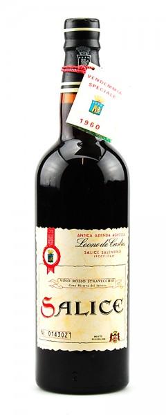 Wein 1960 Salice Leone de Castris Straveccio Salentino