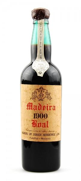Madeira 1900 Manuel de Sousa Herdeiros Boal