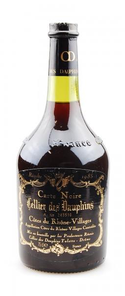 Wein 1985 Carte Noire Cellier des Dauphines