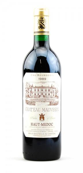 Wein 1989 Chateau Mauvesin Cru Bourgeois Haut-Medoc