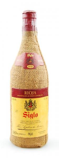 Wein 1976 Rioja Siglo Gran Vino Tinto