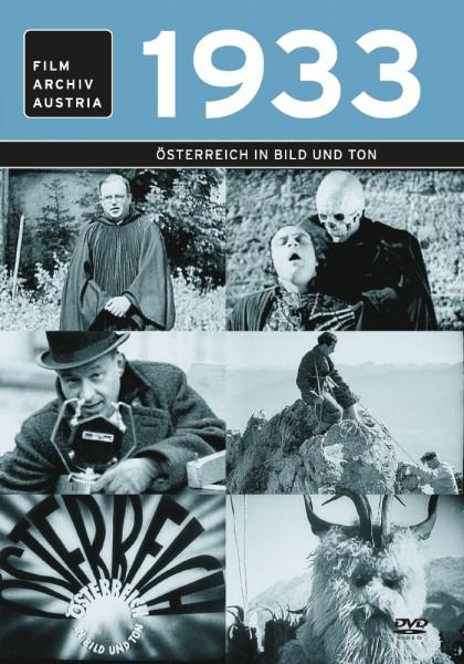 DVD 1933 Chronik Austria Wochenschau in Holzkiste