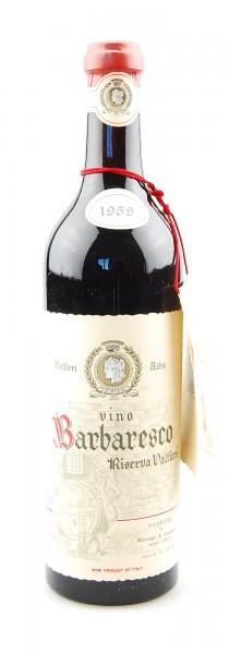 Wein 1959 Barbaresco Riserva Valfieri