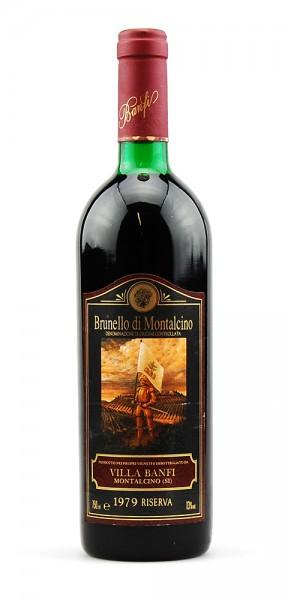 Wein 1979 Brunello di Montalcino Villa Banfi Riserva