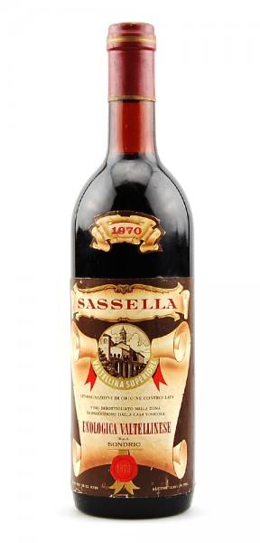 Wein 1970 Sassella Enologica Valtellinese