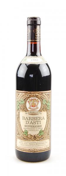 Wein 1982 Barbera d´Asti Superiore G. Cavallotti