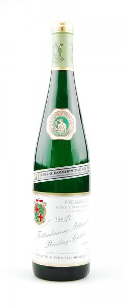 Wein 1997 Trittenheimer Altärchen Riesling Spätlese
