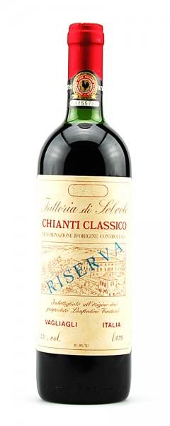 Wein 1981 Chianti Classico Riserva Selvole