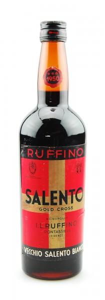 Wein 1950 Salento Ruffino Gold Cross Vino Liquoroso