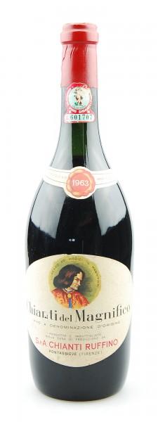Wein 1963 Chianti Ruffino Il Magnifico