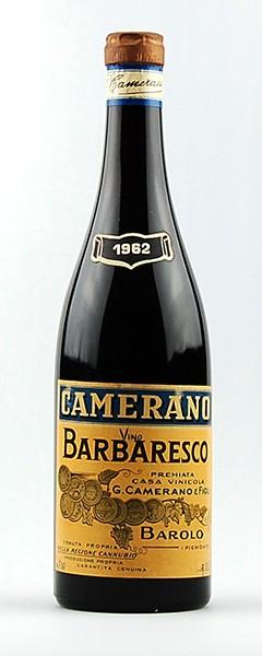 Wein 1962 Barbaresco Camerano