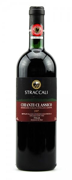 Wein 1997 Chianti Classico Straccali