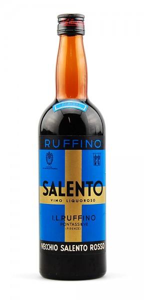 Wein 1958 Salento Ruffino rosso Vino Liquoroso