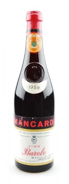 Wein 1959 Barolo Carlo Mancardi