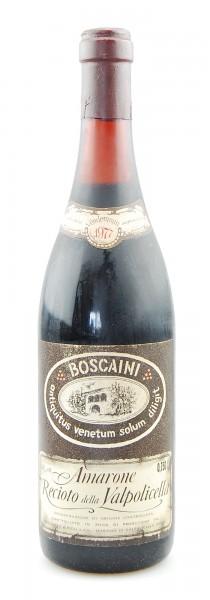 Wein 1977 Amarone della Valpolicella Boscaini