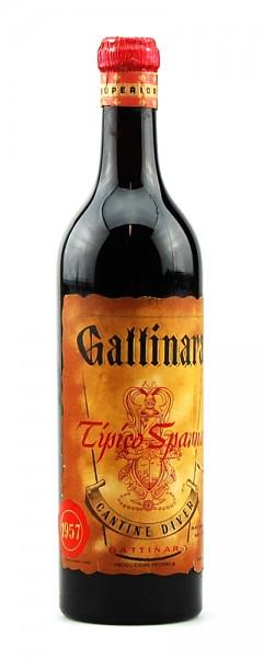Wein 1957 Gattinara Tipico Spanna Cantine Diver