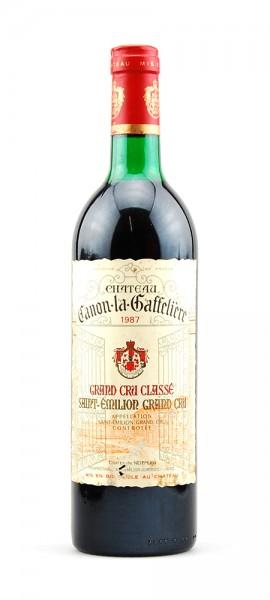 Wein 1987 Chateau Canon-la-Gaffeliere St.Emilion