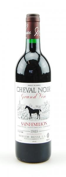 Wein 1989 Chateau Cheval Noir Saint-Emilion