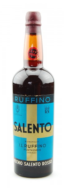 Wein 1944 Salento Ruffino rosso Vino Liquoroso
